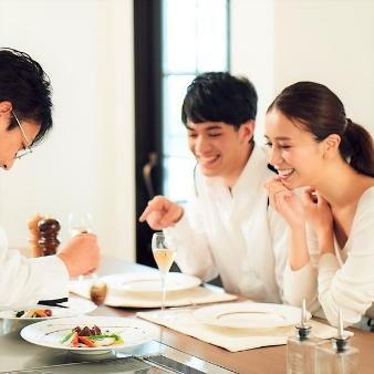 【2組限定】ライブキッチン体感!卒花絶賛のコース料理試食付相談フェア